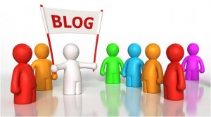 Blogging helps build your credibility