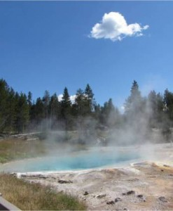 Deven's Trip to Yellowstone