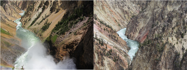 Deven's Yellowstone Trip - Grand Canyon of the Yellowstone