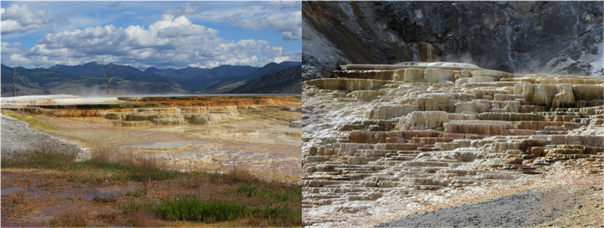 Deven's Yellowstone Trip - Mammoth Hot Springs