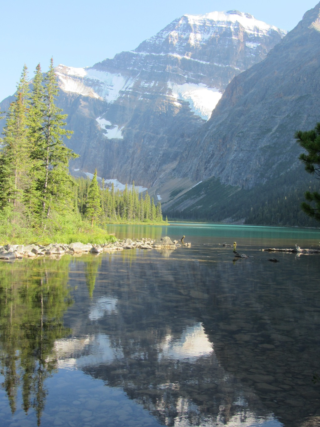 Our Trip to Jasper - Edith Caval Mountain - Devens Journey
