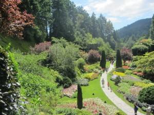 Trip to Vancouver, Victoria BC - Buchart Gardens - Devens Journey